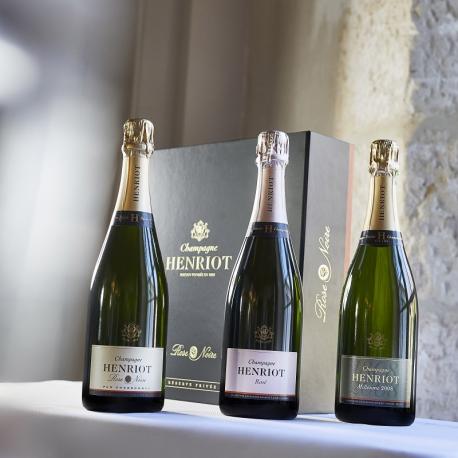 Coffret « Trois Champagnes d'Exception »